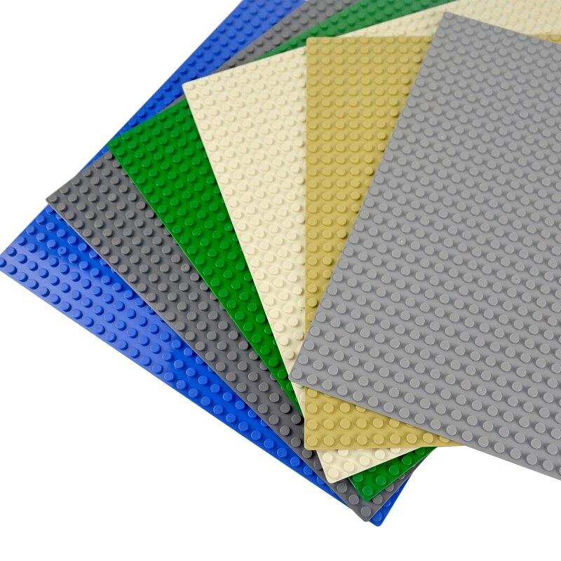 Kazi plaques de Base classiques briques en plastique plaques de Base compatibles avec lego dimensions blocs de Construction jouets de Construction 16*32 points