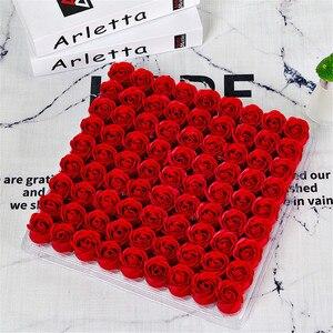 Роза мыло цветок головы три слоя без базы моделирования роза вечный цветок Искусственные розы цветы для скрапбукинга DIY Поставки