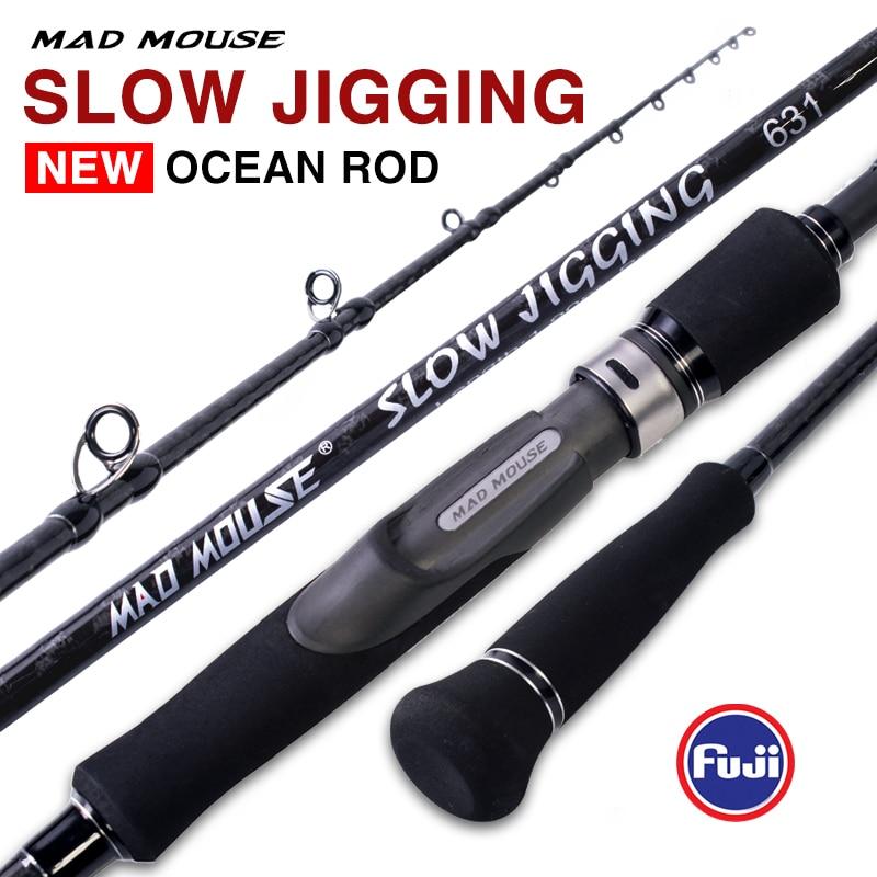 MADMOUSE Japan Full Slow Jigging Rod  1