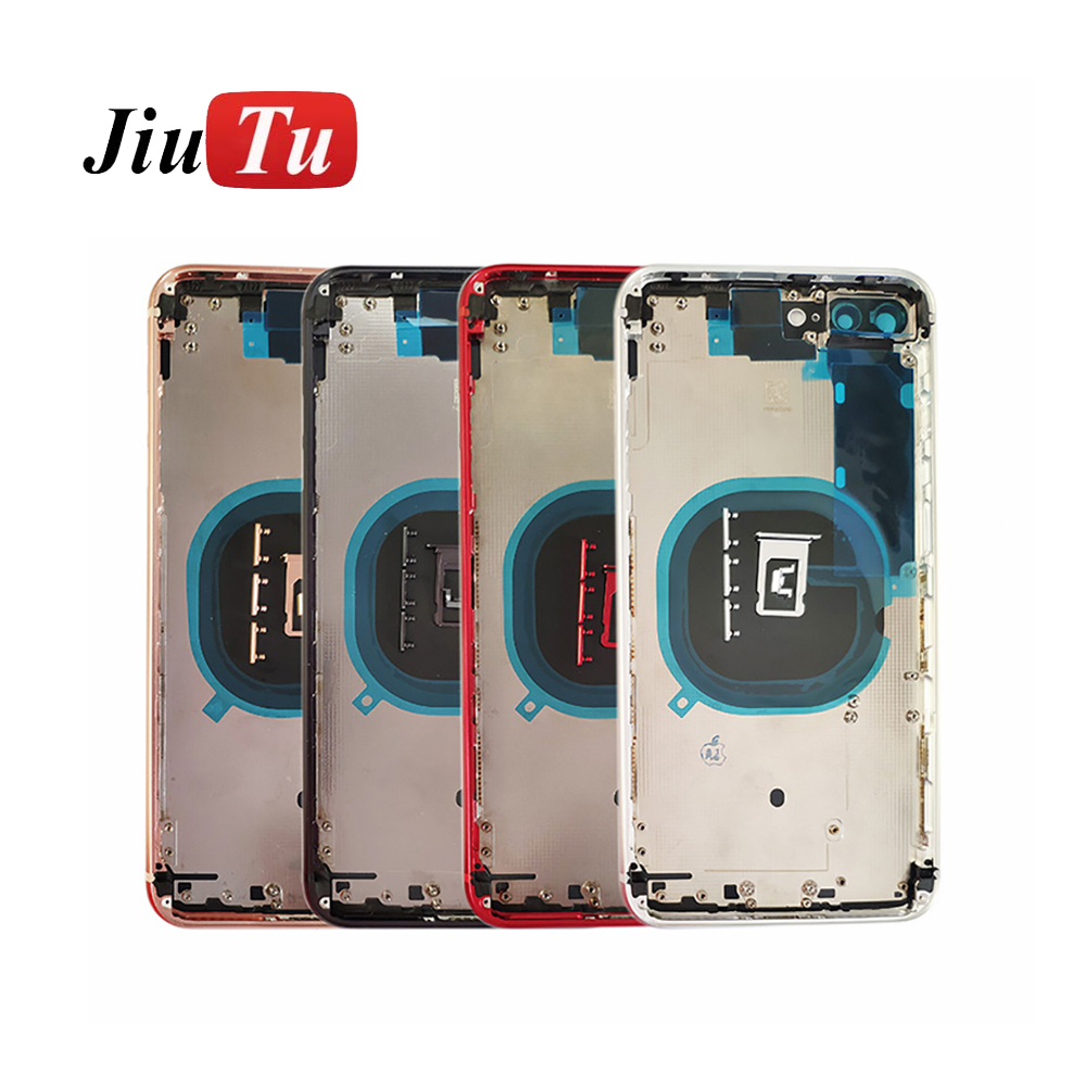 back Middle Frame Chassis Full Housing Assembly Battery Cover Door Rear with Flex Cable (7)