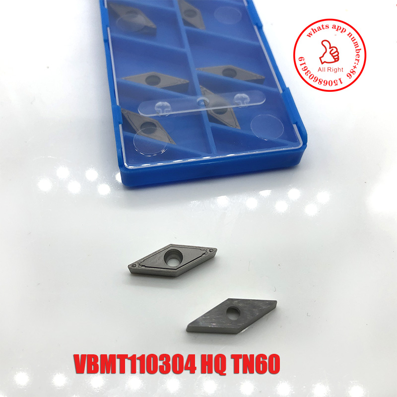 10pcs VBMT160408 VBMT110304 HQ TN60  Carbide Inserts Turning Tool Of Cnc Lathe Cutter High Quality