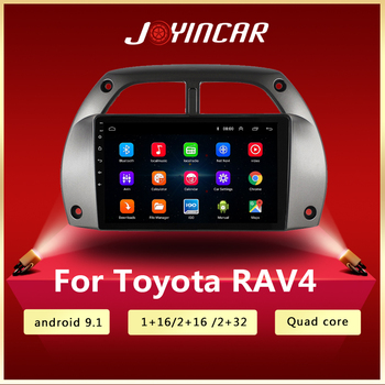 For Toyota RAV4 Car Radio Multimedia Video Player Navigation GPS DVD Android 9.1 2DIN years 2001 2002 2003 2004 2005 2006 image