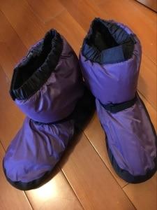 Image 5 - חורף בלט לאומי ריקוד נעלי מבוגרים מודרני ריקוד כותנה תרגילי חימום חם בלרינה מגפיים