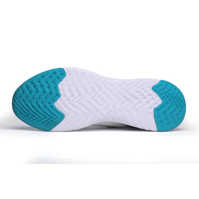 2020 moda erkek tenis ayakkabıları büyük boy 39-46 hava Mesh beyaz siyah çorap Sneakers spor spor ayakkabı Chaussure Homme tenis Masculino