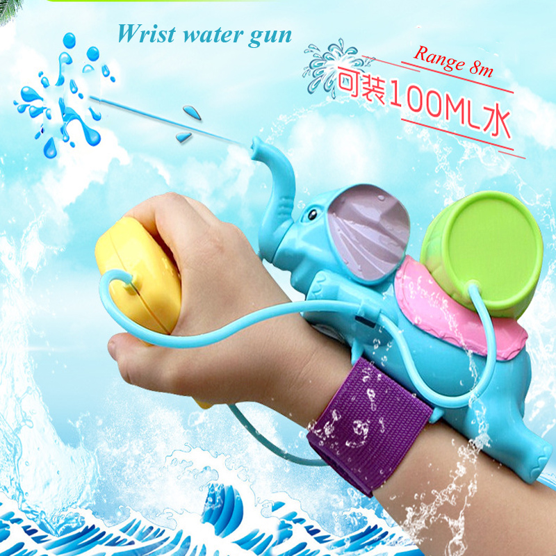 Wrist-style Water Squirt Elephant Spraying Water Playing Children's Toys Water Fight Wrist Water Gun Bathing