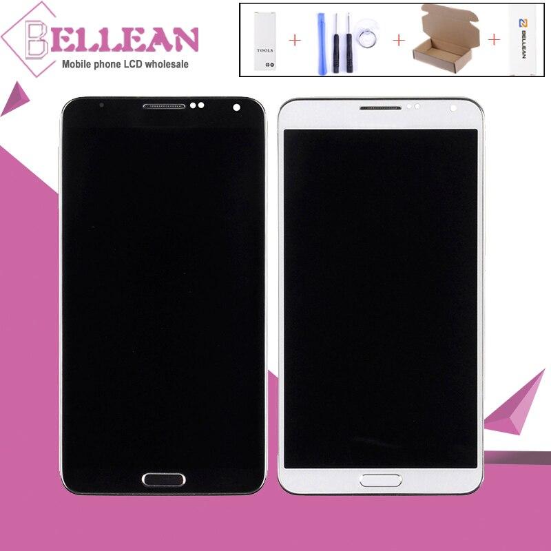 HH Promotion 3G 4G pour Samsung Galaxy Note 3 LCD N9005 N9000 affichage avec écran tactile numériseur assemblée avec cadre