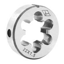 Hss m22 x 15 резьба метрический разделенный круглый регулируемый