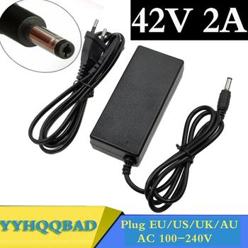 36V 2A battery charger Output 42V 2A Charger Input 100-240 VAC Lithium Li-ion Li-poly Charger For 10Series 36V Electric Bike 42v 2a charger for 36v 2a lithium battery charger 10 series 3 6v battery charge ebike charger
