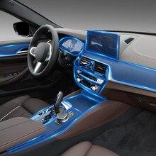 For BMW G32 Sreies 6GT 2017-2021 Car Interior Center console Transparent TPU Protective film Anti-scratch Repair film Accessorie