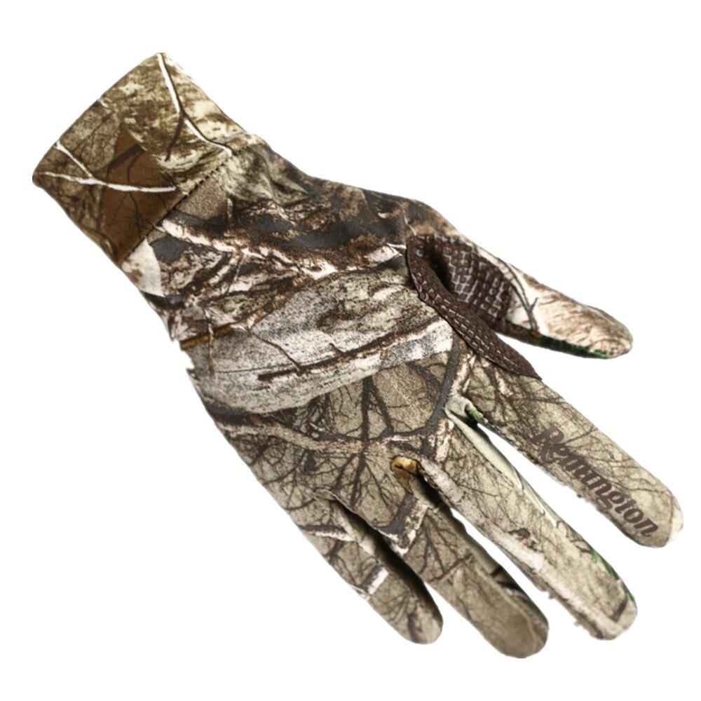 Уличные бионические камуфляжные перчатки для сенсорного экрана, охотничьи камуфляжные перчатки, противоскользящие эластичные перчатки дл...