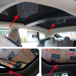 Image 5 - Für Tesla Model S Sonnenschirm Faltbare Mesh Schiebedach Sonnencreme UV Isolierung Schatten Geändert Auto Regenschirm Auto Dekoration Zubehör