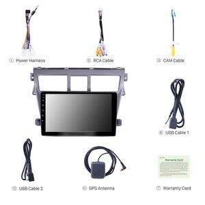 Image 2 - Seicane 2din سيارة مشغل وسائط متعددة ل 2007 2008 2009 2010 2011 2012 تويوتا فيوس أندرويد 10.0 نظام تحديد المواقع والملاحة دعم RDS TPM