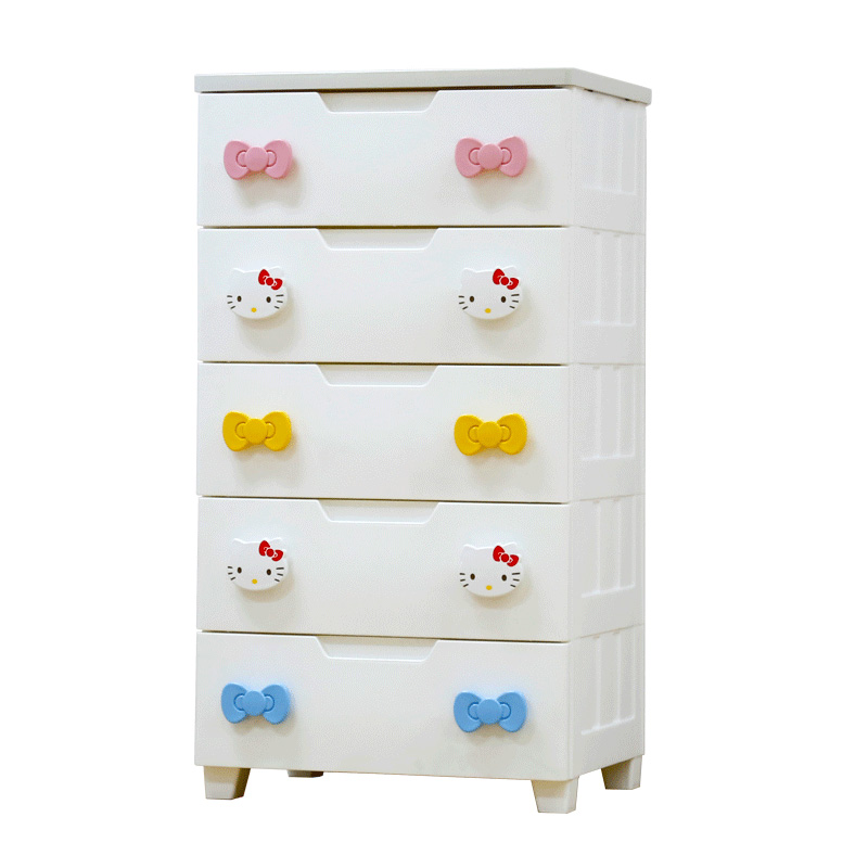 H1 Hellokitty Clothes  Clothes  Drawer Receiver  Children  Babies  Wardrobes Alice  Storage Cabinet  Drawer  Minnie Mouse Drawer