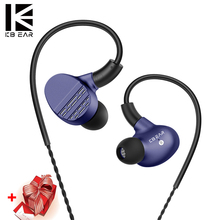 KBEAR HI7 Earphone 6BA+1DD Hybird Earhones In Ear Headset With MMCX 3.5mm Earplug KEEAR F1 Opal KB06 KB10 For Kz10 YINYOO V2/ASH