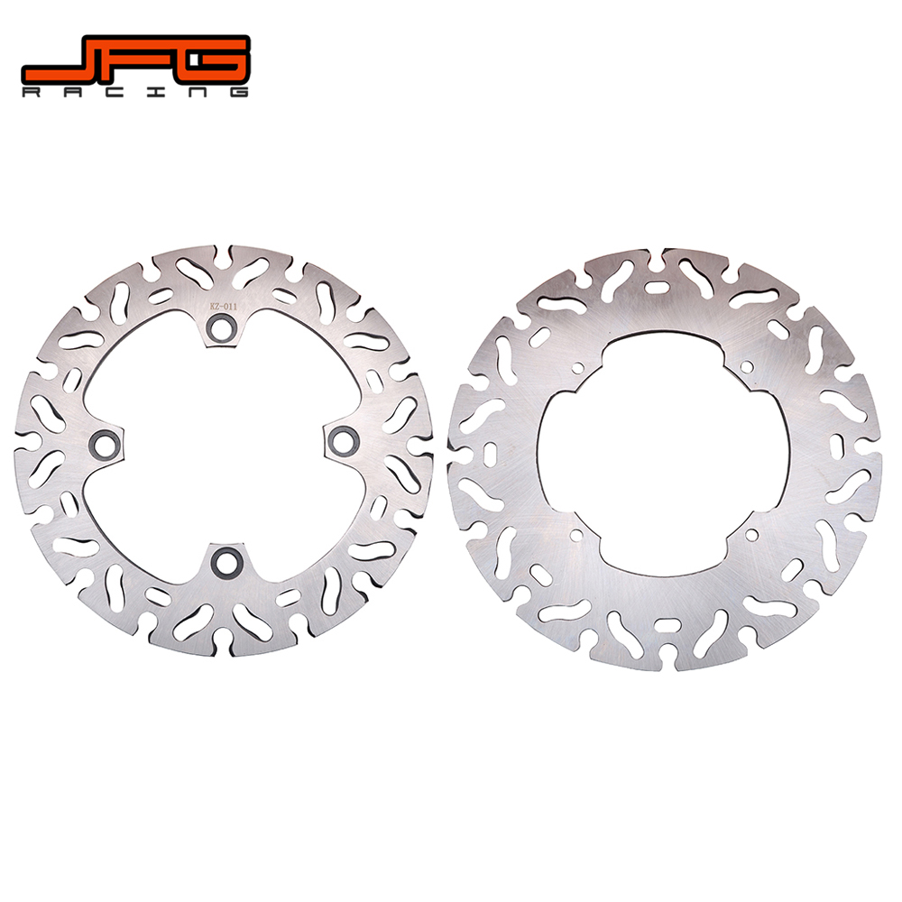 Motorcycle Stainless Steel 240MM 220MM Front And Rear Brake Disc Rotor For <font><b>HONDA</b></font> XR250 CRM250 <font><b>XLR250</b></font> XR CRM XLR 250 image