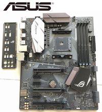 Motherboard Asus ROG STRIX B350-F GAMING AMD B350 buchse AM4 Desktop Motherboard unterstützung RYZEN 3700x verwendet BORD verkäufe