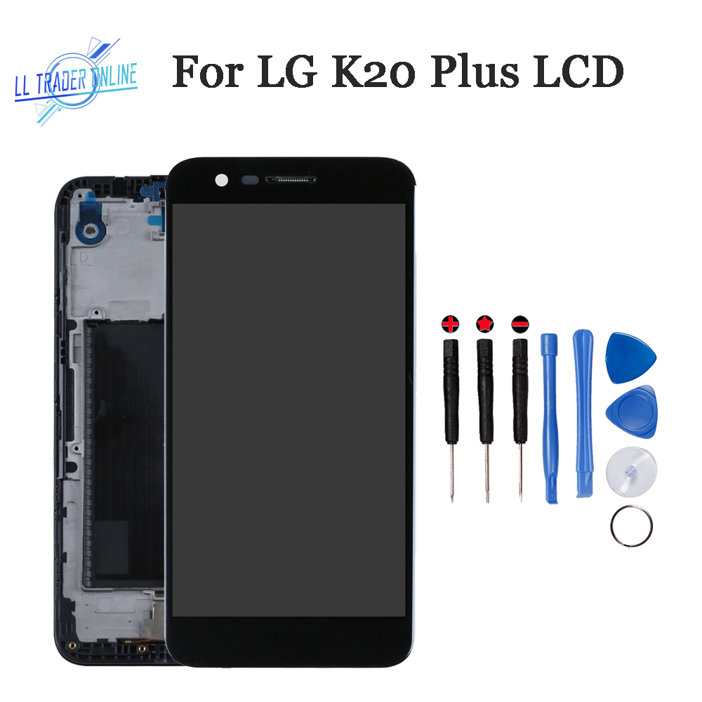 LL TRADER 100% Tested LCD Display Assembly For <font><b>LG</b></font> <font><b>K20</b></font> <font><b>Plus</b></font> LCD Touch <font><b>Replacement</b></font> Frame For <font><b>LG</b></font> K10 2017 Touch <font><b>Screen</b></font> Digitizer image