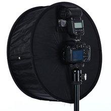 Рассеиватель для вспышки софтбокс с отражателем профессиональный мини-рассеиватель для фото круглый квадратный мягкий светильник для камеры Canon Nikon sony