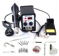 Youyue 8586 Soldering Stations AC 110 V / 220 V 700 W SMD Rework Soldering Station Hot air gun soldering iron heater
