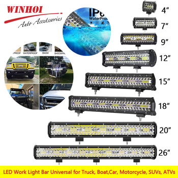 цена на Led Work Light Bar Combo 26