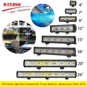 Led Work Light Bar Combo 26