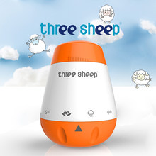 Baby Smart Music White Noise Machine Voice Sensor Rechargeable Infants Therapy Sound Machine Sleep Soother White Noise Generator