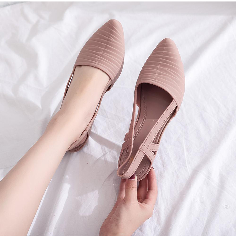 Woman Wedges Sandals 2021 Women Slip-on Jelly Shoes Ladies Casual Pumps Female Summer Beach Slippers Women's Casual Footwear 1