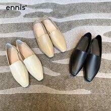 ENNIS Brand Fashion Women Shoes Flat Gen