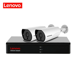 Image 2 - LENOVO 2CH 1080P POE NVR Kit 2.0MP HD CCTV Security camera System Audio monitor IP Camera P2P Outdoor Video Surveillance System