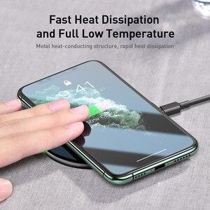 Image 4 - Baseus 15ワットチー高速ポッド用ポッドproのガラスパネル薄型可視ワイヤレス電話の充電器iPhone11 x xs最大