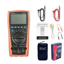 Multímetro Digital VC99 VC97A, nuevo VC97, 1000V, CC, CA, rango automático, DMM, medidor de corriente de temperatura, diodo de resistencia de capacitancia