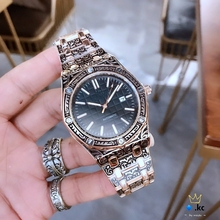 Luxury Brand Latest Design Men's Watch Three-dimensional Carved Case ap Watch Quartz Movement aaa Men Watches
