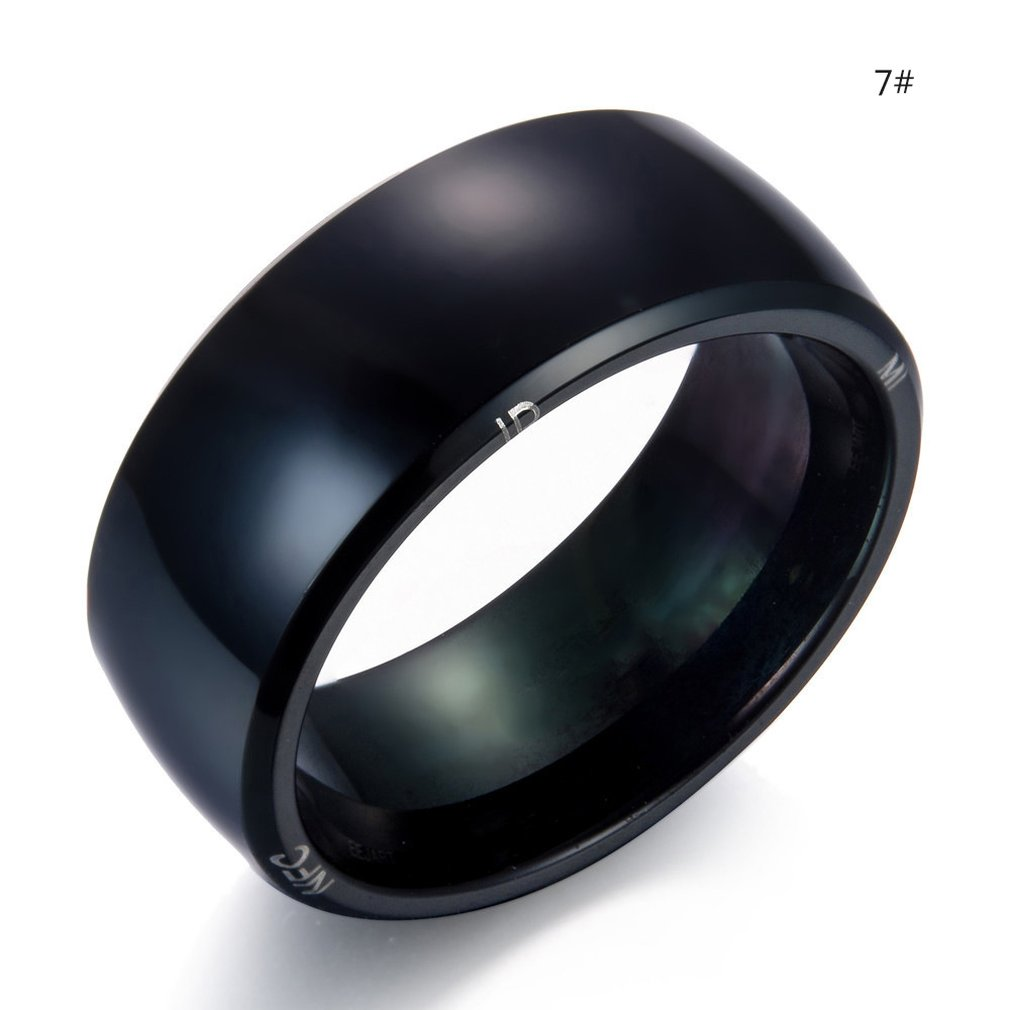 Hot Sales Fashionable Design Smart Ring Wearable Device NFC Magic Ring Waterproof Health Men Women Ring Jewelry