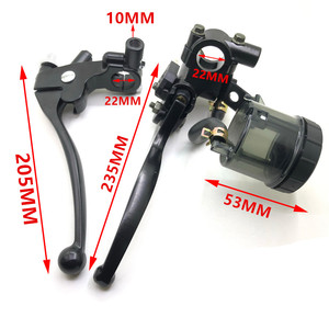 """Image 5 - For Harley Triumph Cafe Racer 1 Pair Universal 7/8"""" Motorcycle Brake Clutch Pump Master Cylinder Lever With Fluid Reservoir Cap"""