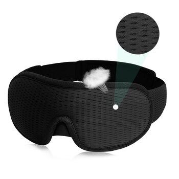 3D Sleeping Mask Block Out Light Soft Padded Sleep Mask For Eyes Slaapmasker Eye Shade Blindfold Sleeping Aid Face Mask Eyepatch 1