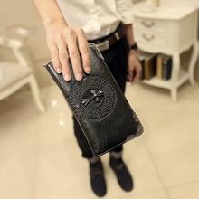 Rivet Handbag Fashion Long Purse Trendy Mens and Womens Wallets