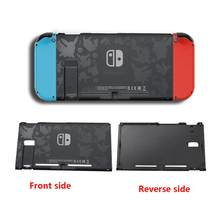 Back Housing Shell Case Cover For Nintendo Switch Console Replacement Protection Cover Game Console Back Case Accessories(China)