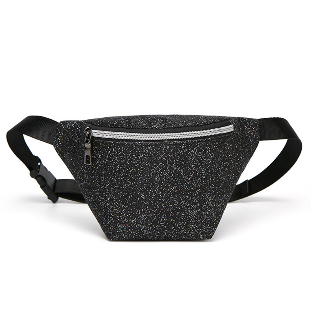 Purses Shopping Travel Casual Outdoor Glitter Multifunction Adjustable Strap Portable Waist Bag Women Wear Resistant Daily
