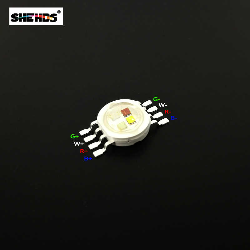 1 chiếc Đèn LED Pha Chiếu Sáng Chip RGBW 4IN1Red/Xanh Lá/Bule Trắng Phù Hợp Với Mệnh Đèn DJ Disco thanh DMX512 Điều Khiển Hiệu Ứng Ánh Sáng