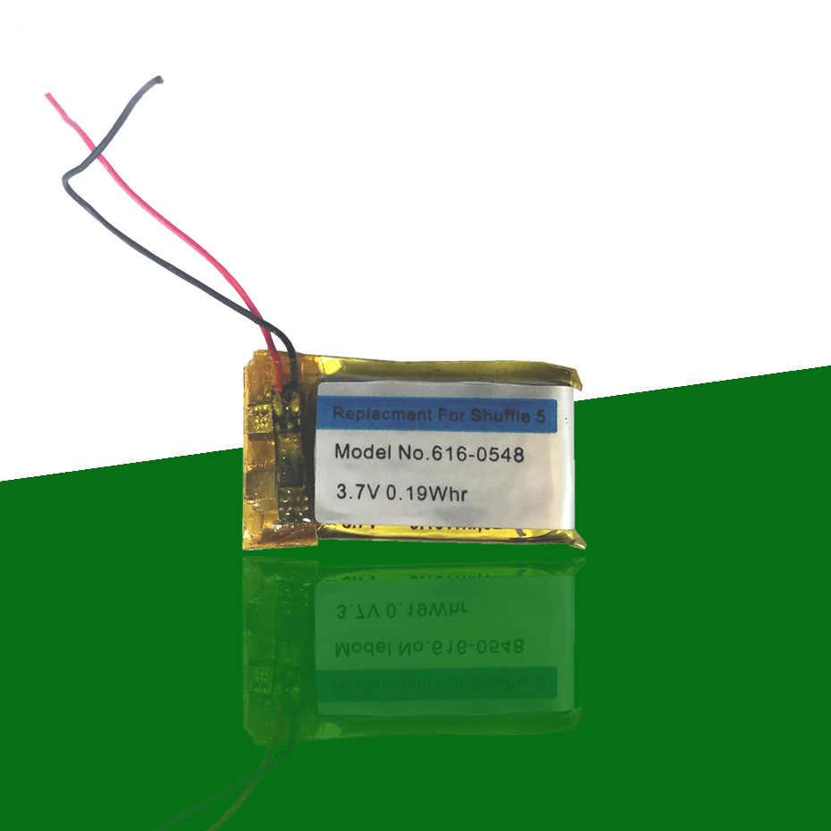 販売 616-0548 0.19Whr バッテリーシャッフル用の Apple の Ipod 4 世代 4 グラム 4th 5th 6th A1373 616 -0150 Batterie AKKU