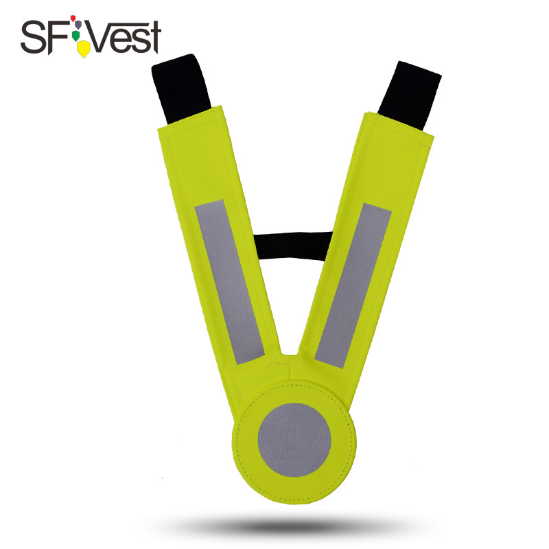 Sfvest CHILDREN'S Reflective Vest Waistcoat Reflective Clothing Safety Clothing Kindergarten Suit Suspender Strap [PRE-SALE]