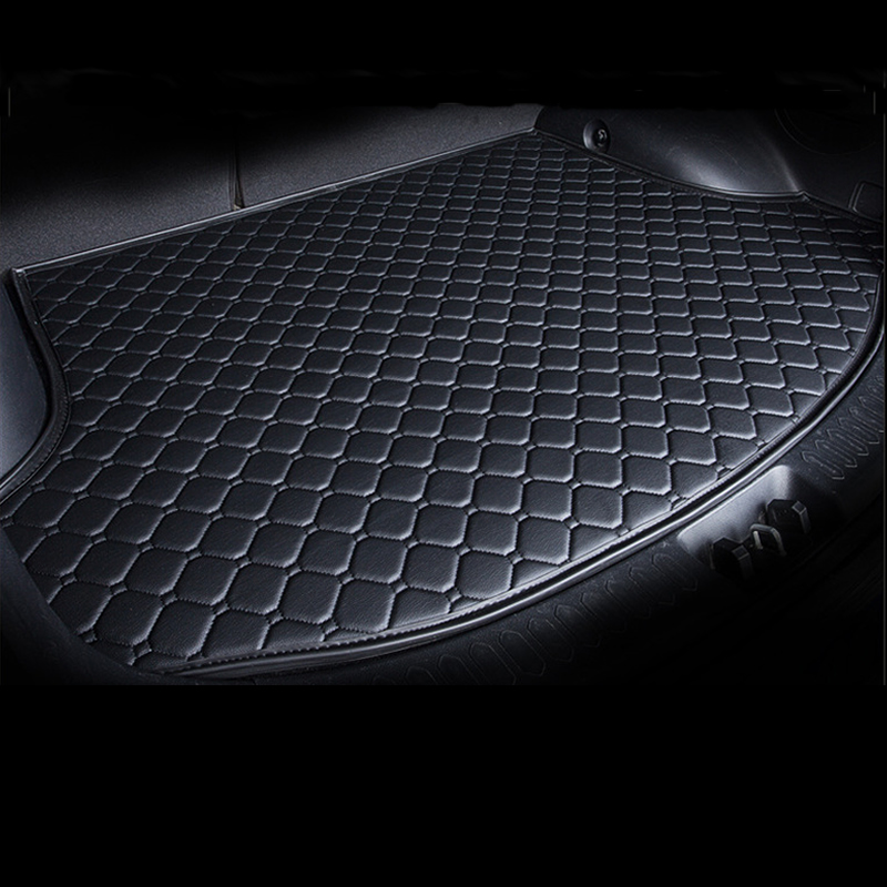 For Citroen C3 C4 Cactus Ford Figo Focus 1 2 3 Mk1 Mk2 Mk3 Fusion Mondeo Mk3 Mk4 Car Rear Trunk Floor Mat Auto Trunk Carpet