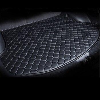 For citroen c3 c4 cactus ford figo focus 1 2 3 mk1 mk2 mk3 fusion mondeo mk3 mk4 Car Rear Trunk Floor Mat Auto trunk Carpet