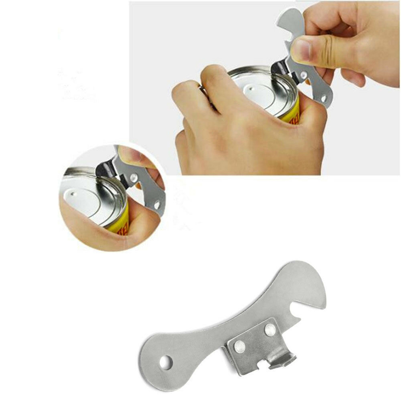 Portable 1PC Creative Versatile New Can Opener Stainless Steel Multifunctional Bottle   Opener Kitchen Supplies Gift