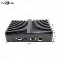 TDP 10 Вт Pfsense мини ПК intel Celeron J1900 мульти LAN брандмауэр маршрутизатор компьютер 4 * RJ45 1000 Мбит/с промышленный безвентиляторный мини-ПК