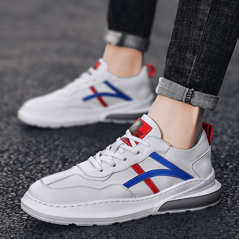 2020 new spring Arkham white shoes Korean trend sports casual shoes wild tide shoes men's shoes students