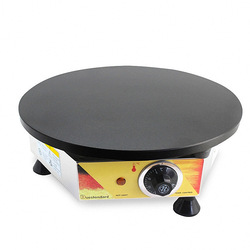 Commercial Electric Crepe Maker Heating Cooker Commercial Pancake Fruit Machine Non-stick Burritos Machine Crepe Machine