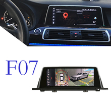 Auto 4G Multimedia GPS Audio Radio Stereo Für BMW 5 Series F07 GT 2011 ~ 2017 CarPlay WiFi TPMS für CIC NBT Navigation 360 Ansicht