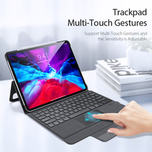 Wireless Bluetooth Touch Keyboard Protective Case For Apple iPad Pro 12.9 2020 A2069 A2232 Auto Sleep Wake Stand PC Cover