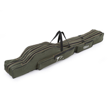 FDDL 120CM 130CM 150CM Portable Folding Fishing Rod Bag Multi purpose Carrier Canvas Fishing Pole Lure Tools Storage Bag Case